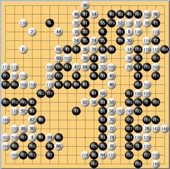 이세돌 vs 알파고, 1차 대국에서 알파고가 승리했다. - 감동근 제공